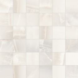 ONYX WHITE 2X2 MOSAIC