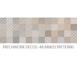 TEXTILE PATCHWORK MIX 8X8 DEC0
