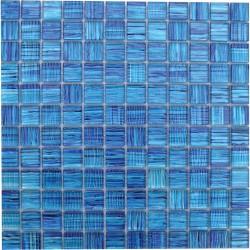 RIPPLE MIAMI BLUE 1X1 MOSAIC