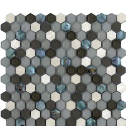 SEA JEWEL CREME HEXAGON