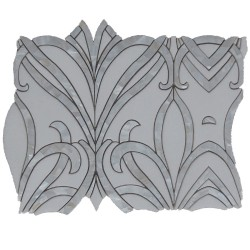 WATERJET ORCHID THASSOS SHELL